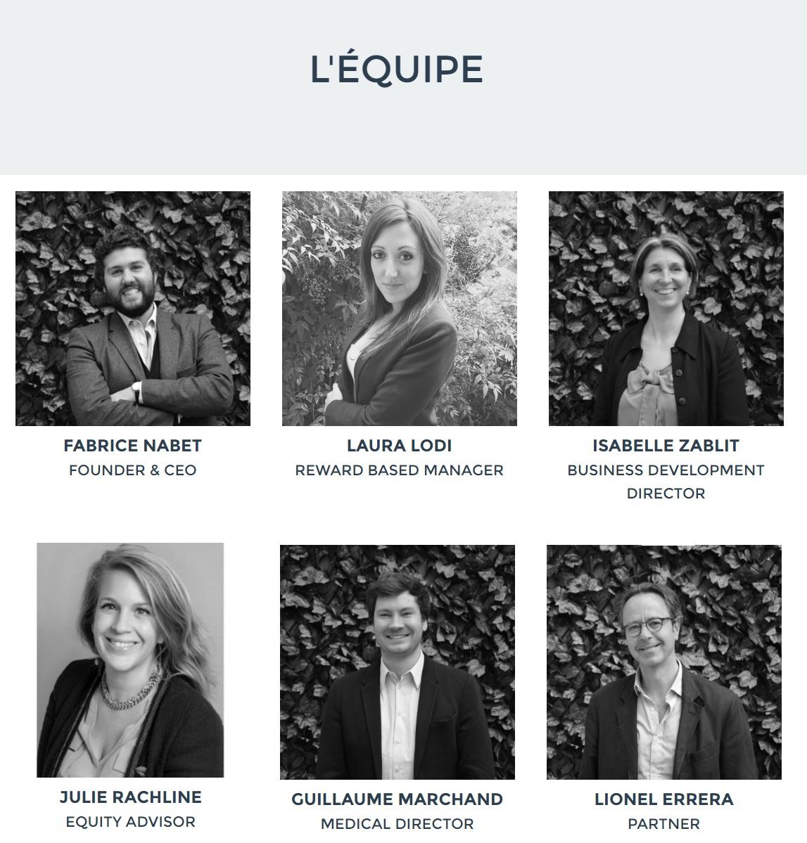 Equipe du site collaboratif Welfundr