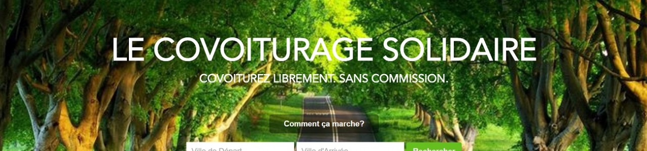 freecovoiturage covoiturage sans commission